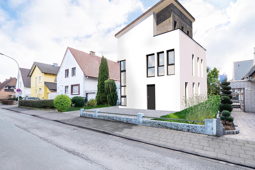 Neubau von Eigentumswohnungen in der Südstadt von Paderborn