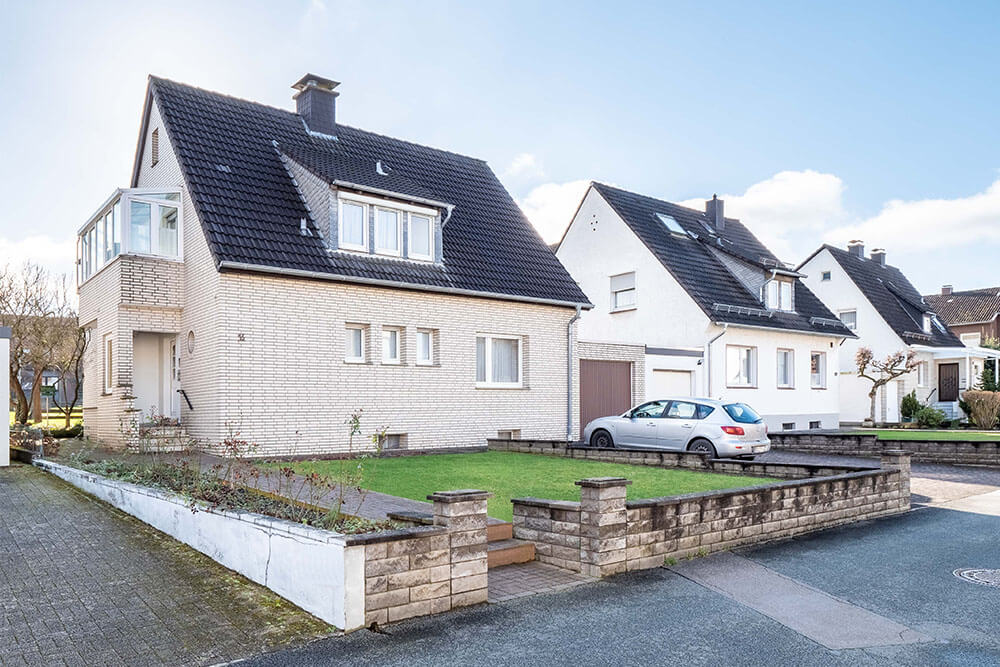 Ansicht Einfamilienhaus in Paderborn