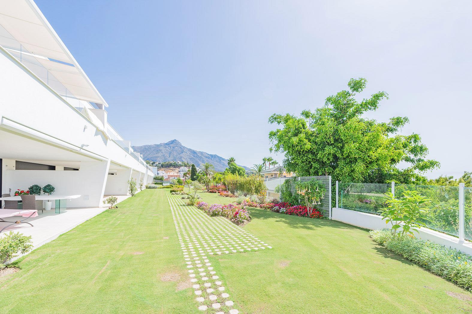 Außenansicht des Anwesens in Marbella.