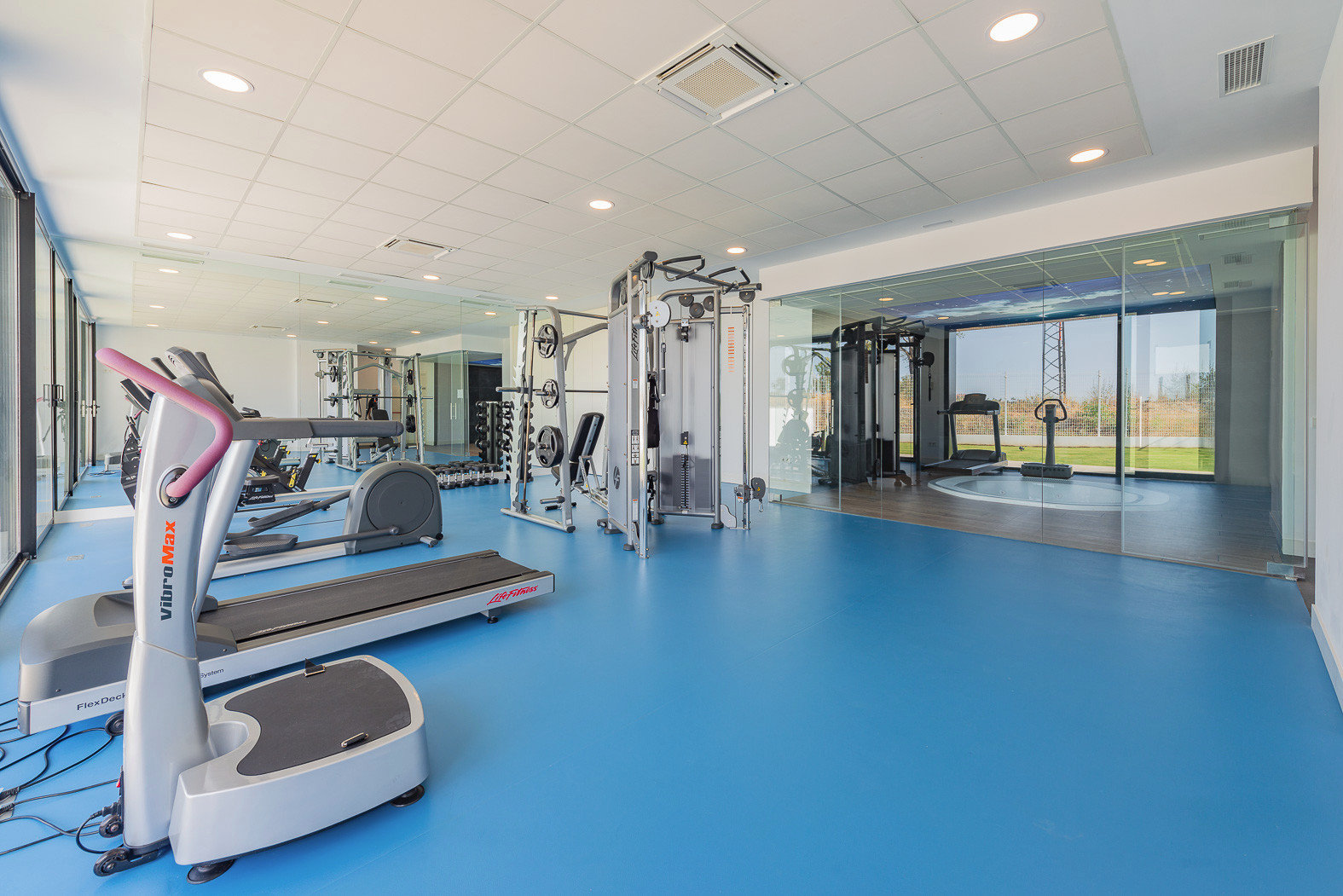 Privates Fitnessstudio.