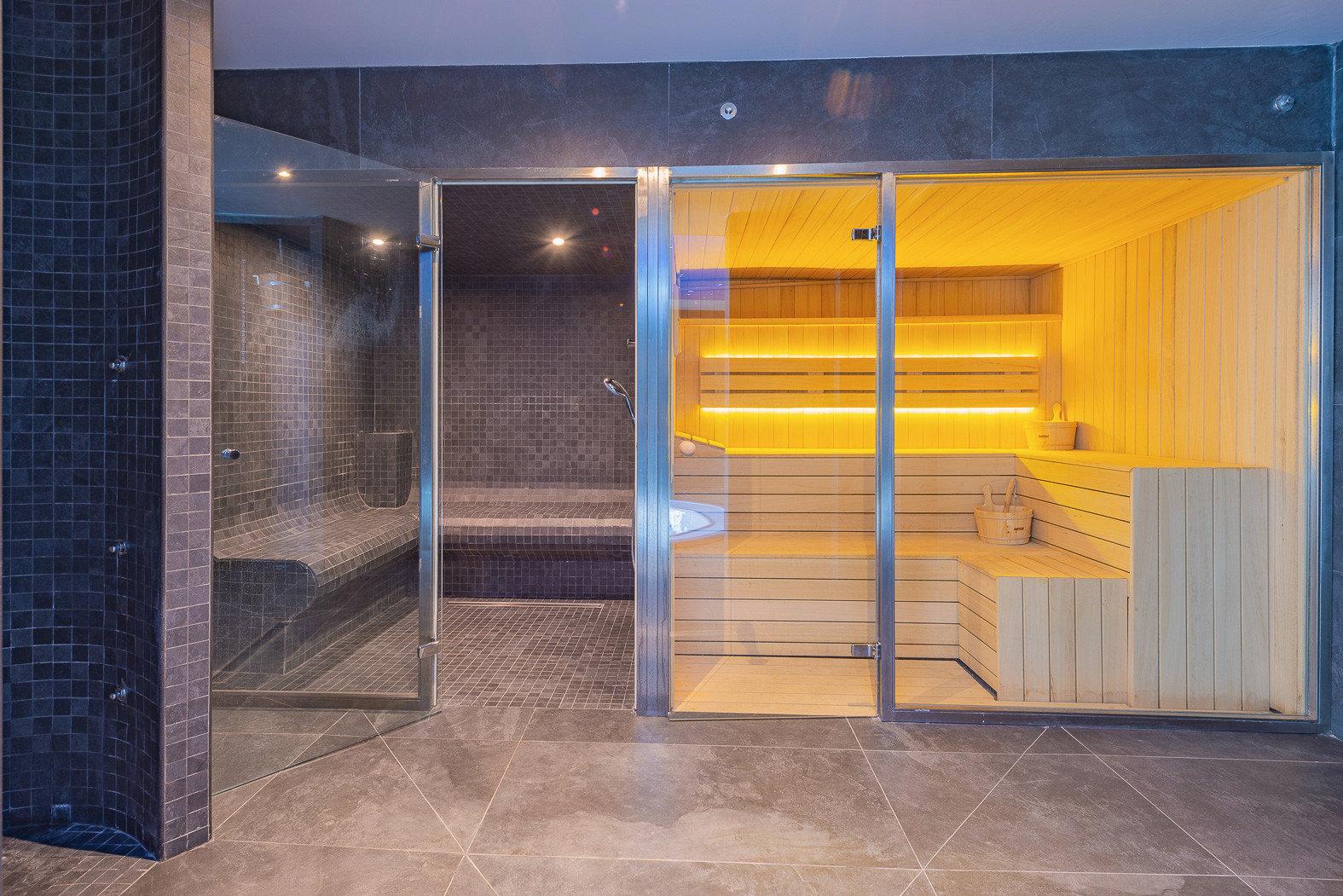 Private Sauna im Haus.